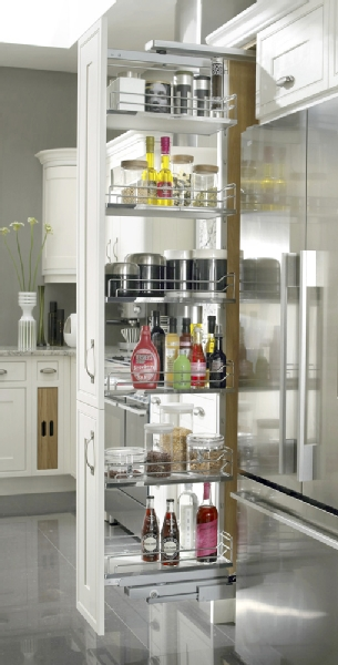 Designed Like A Regular Pull Out Pantry Unit What Diffeiates It From Another Is The Ability To Turn Complete Frame Through 90 Degree
