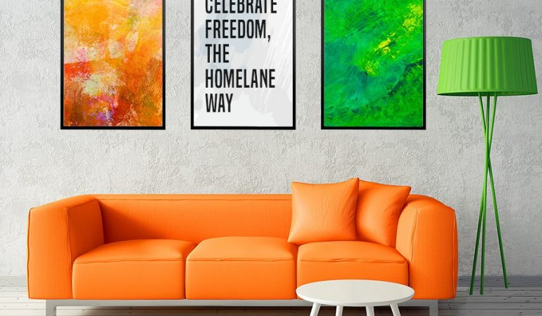 Patriotism And A Little Panache: New Ways To Do Up Your Home In The Colours Of Freedom