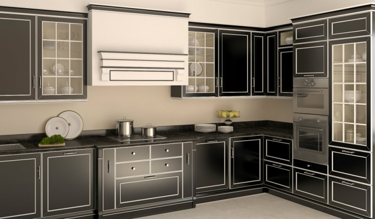 HomeLane Look Book: Stylish Black Kitchens