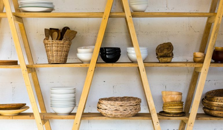 7 Reasons Open Shelves Work For Indian Kitchens