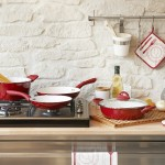 Kitchen Color Combinations: Red and White