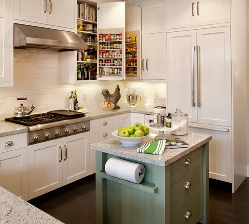 10 Clever Storage Hacks For Small Kitchens