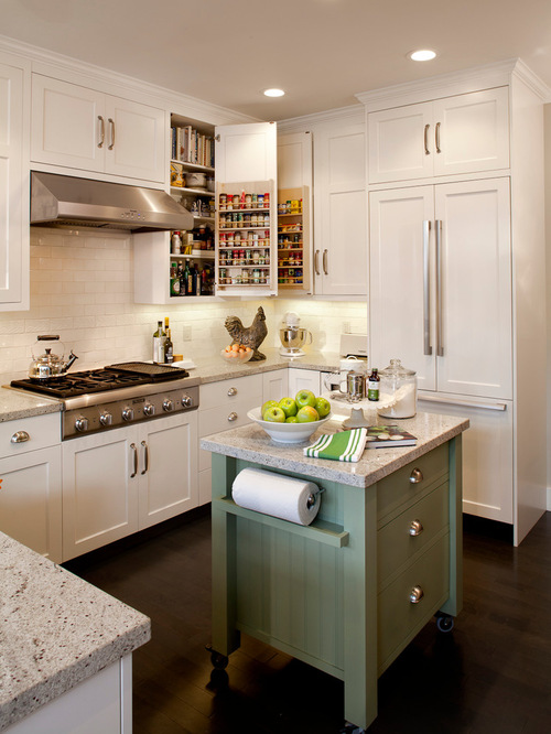 small island kitchen