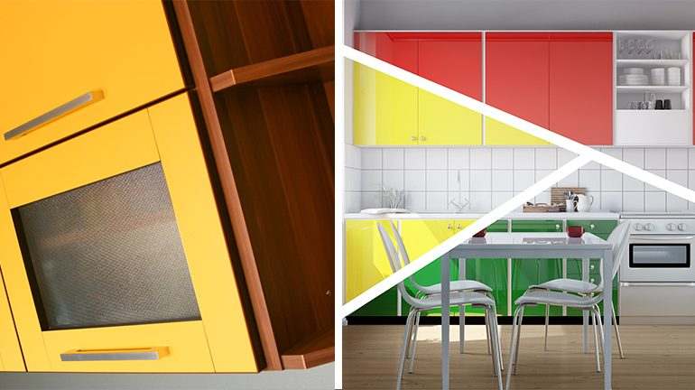 How to Bring Your Kitchen Alive With Colours