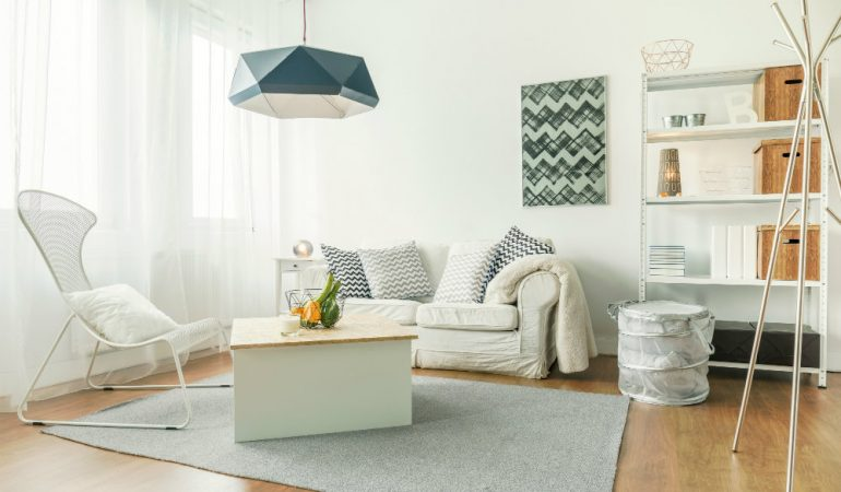 10 Smart Design Tips For Small Living Rooms