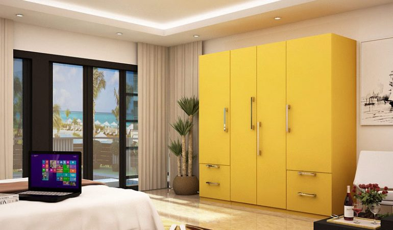 HomeLane Look Book : Vibrant Wardrobes