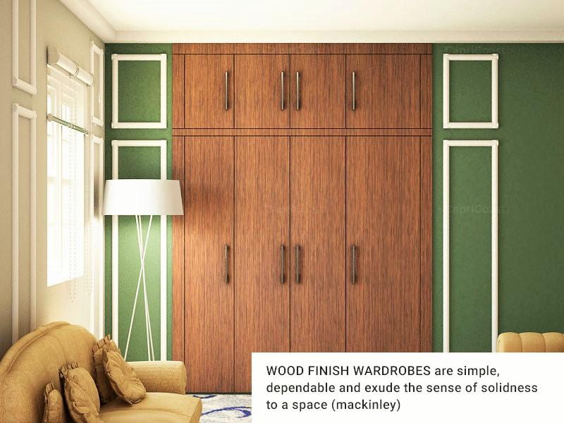 Wardrobe wood 1