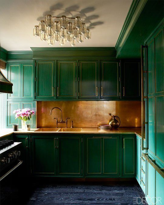 dark-green-kitchen