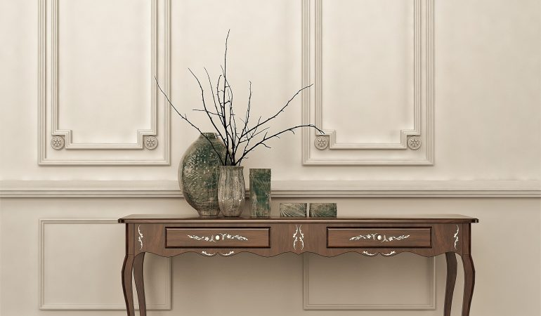 5 Clever Ways to Use Console Tables Optimally