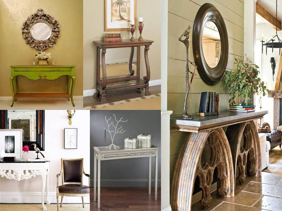 1 In The Entryway A Console Table