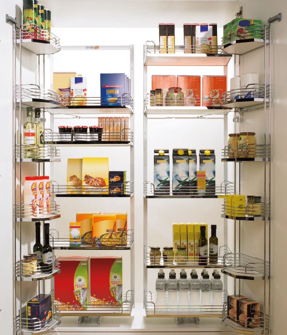Modular Kitchen Accessories Price: Modular Kitchen Accessories : Dual Storage Pantry Unit