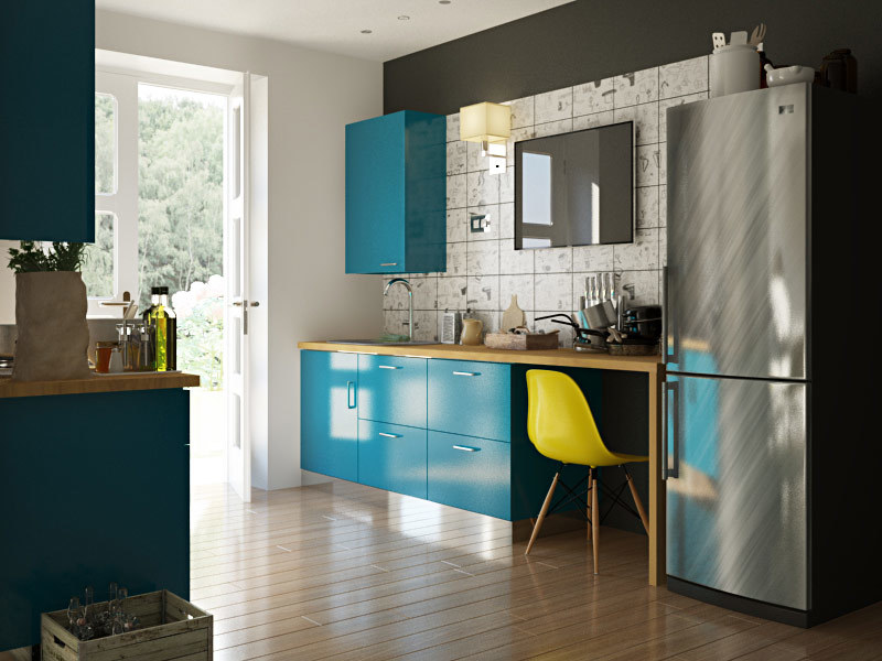 4 Brilliant Kitchen Remodel Ideas: Modular Kitchen Designs: 4 Ways To Go Glossy