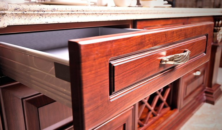 Modular Kitchen Accessories : Softclose Drawer System