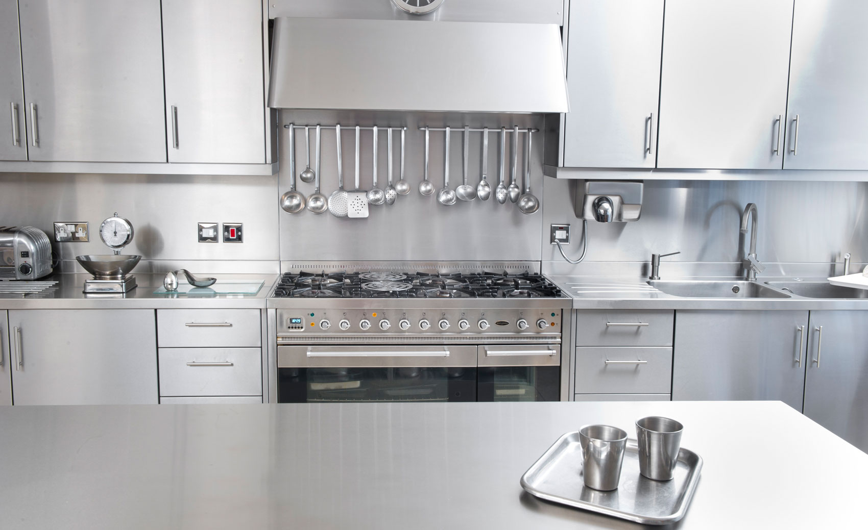 Stainless Steel Kitchen Cabinet Catering