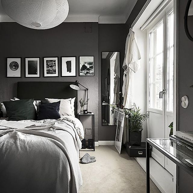 Old Vintage Furniture Cramped Blue Room