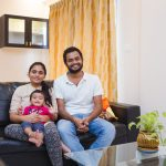 Homes by HomeLane: The Ponugotis Family's Home