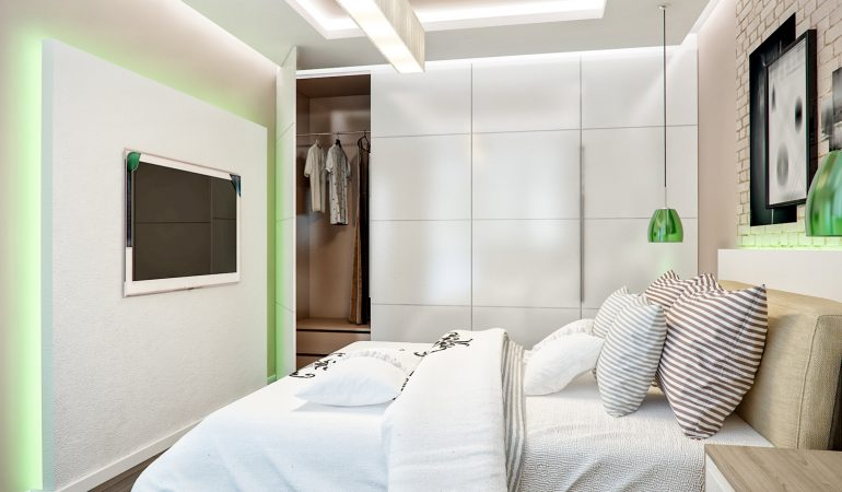 How to Design Storage for a Small Bedroom