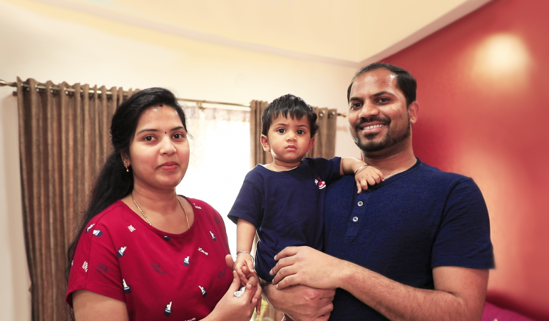 Homes by HomeLane: Sowmya and Suresh Pandian's Electronic City apartment